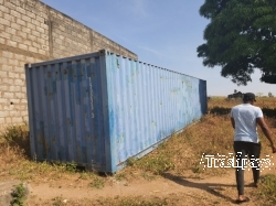Used Metal Container