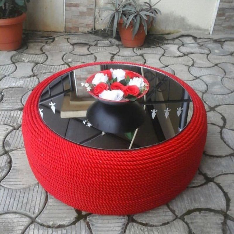 recycling tire